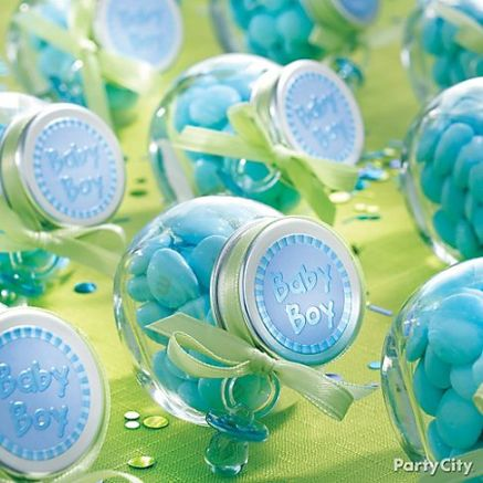 Baby shower party favor ideas for boys todayideas for Baby shower decoration ideas for boys