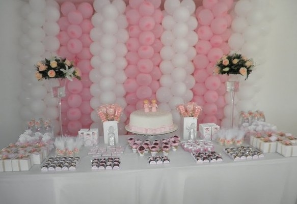 Baby shower ideas for girls 4 todayideas for Baby shower decoration ideas for girl