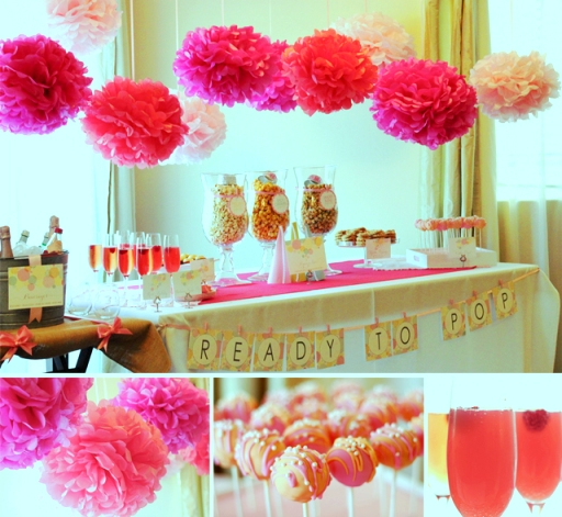 There are numerous baby shower ideas that work todayideas - Decoration baby shower fille ...